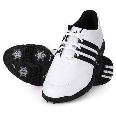 New Adidas GolfLite 4 Mens WD (Wide) White Golf Shoes – Choose Size