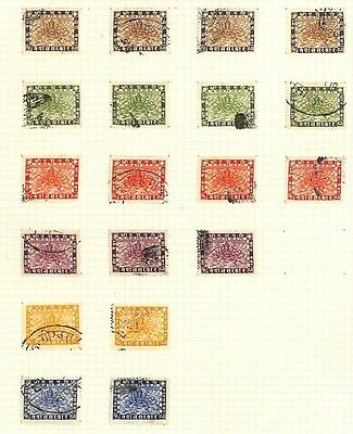 SA903 1935 NEPAL Original Album page from oldtime collection