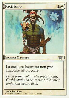 4X Pacifismo - Pacifism - 8ED / 9ED - EXC ITA / ENG - MTG