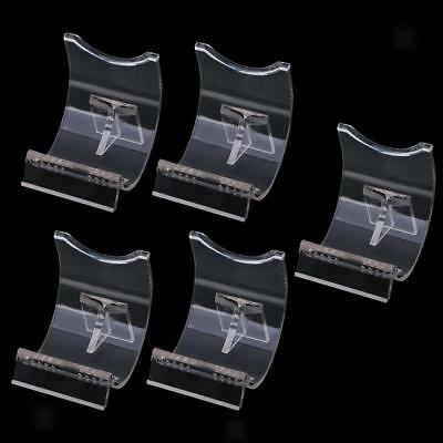 5PCS Lighter Display Stand Clear Acrylic Holder Support for Lighters Durable