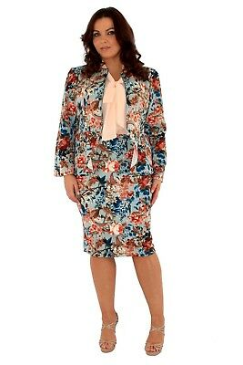 Jacket and Skirt Suit - Size 24