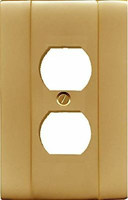 Runwireless Duplex Classic Switch plate, Wall plate, Cover, Solid Cast Brass ...