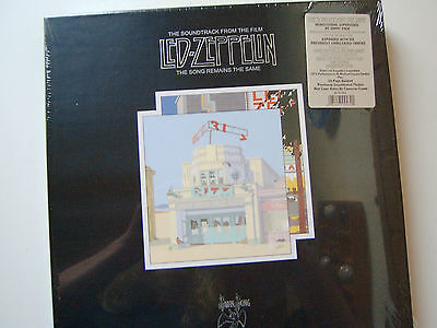 """Led Zeppelin 4 LP Box """"The song remains the same"""" NEW-OVP 1973/2008"""