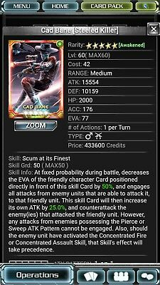 Star wars force collection 5* cad bane sk skill 50 awakend