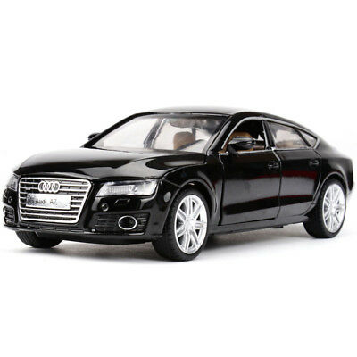 1:32 Audi A7 Diecast Model Car Toy Collection Sound&Light Black Xma Gift