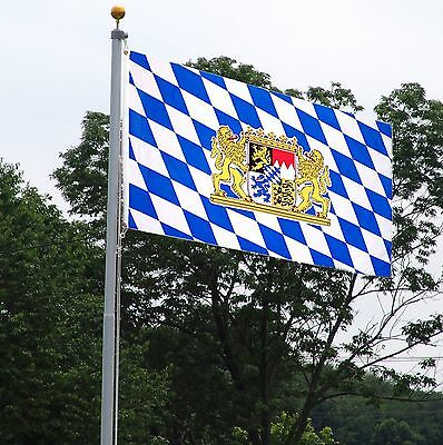 Bavaria National Country Flag - 3' x 5'  Polyester