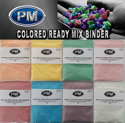 Colored Ready Mix Tablet Binder For Tdp And Manual Tablet And Pill Pruduction