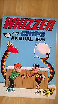 Vintage Whizzer And Chips Annual 1975.
