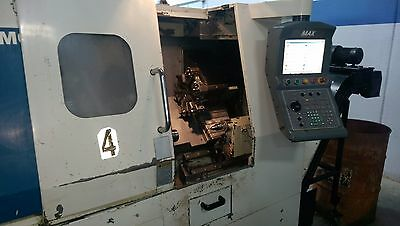 Used Hurco TM-6 CNC Lathe Turning Center Max Control Parts Catcher Tailstock '04