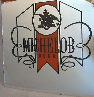 "Vintage Michelob Mirror Beer Sign ~ 12"" X 12"""