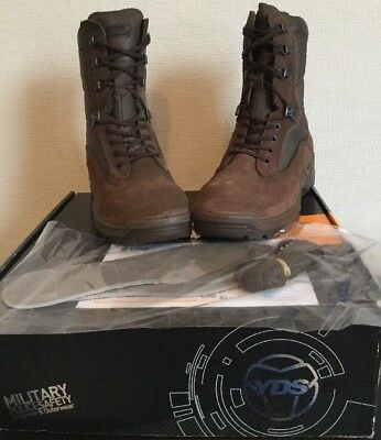 Falcon Yds Military/combat/tactical Brown Boots. New.size 7 Wide.mens.