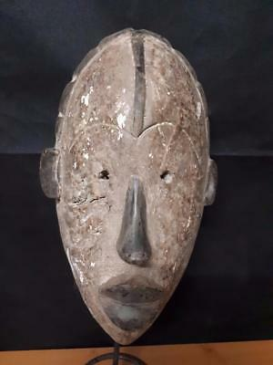 Old Tribal Ibiobio Mask Nigeria . ........Fest- GB87