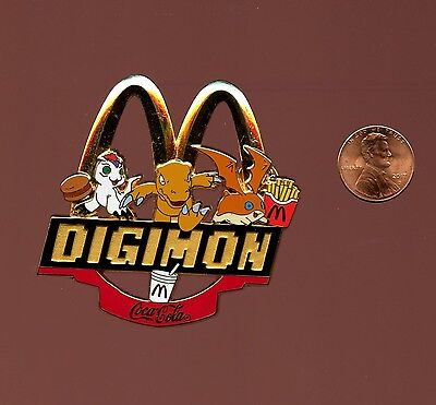 Digimon McDonald's / Coca-Cola Pin