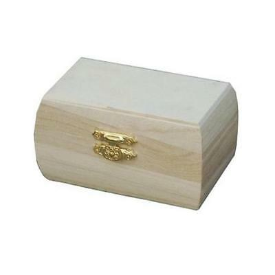Bare Wood Box - 10cm Small #8450