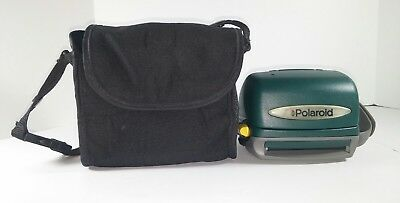 Polaroid 600 One Step Express Instant Camera- TESTED- Dark Green