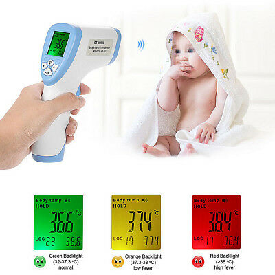 Non-Contact Forehead Infrared Medical Digital Thermometer Baby Adult Body Care
