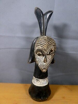 Double Headed songye Mask Gabon . ........Fest- GB89