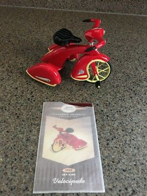 Hallmark Kiddie Car Classics Sidewalk Cruisers 1935 Sky King Velocipede Tricycle