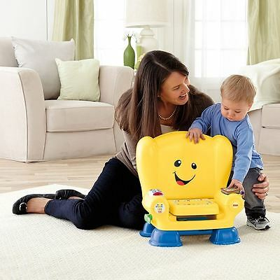 Fisher-Price Laugh And Learn Smart Stages Chair Activity Bench Yellow