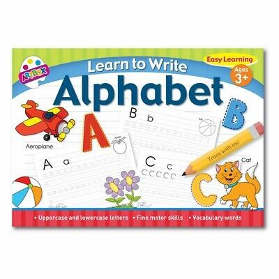 Learn To Write Childrens Learning Alphabet Easy Learning Book for Kids