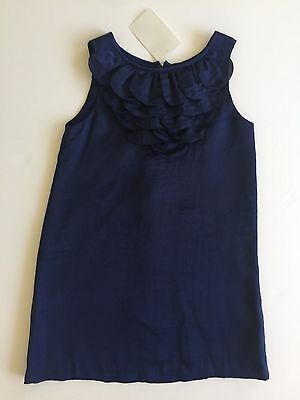 Charabia Girl's Navy Sleeveless Dress. New With Tags! Size 4