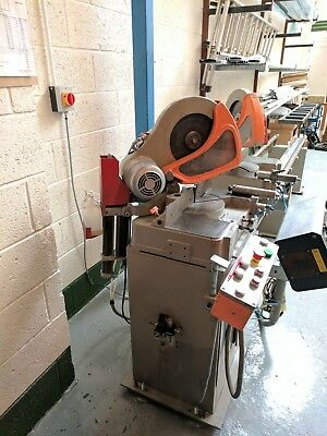 Double Headed Mitre Saw