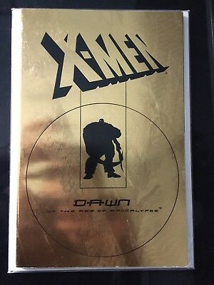 Xmen The Dawn Of The Age Of Apocalypse gold foil cover