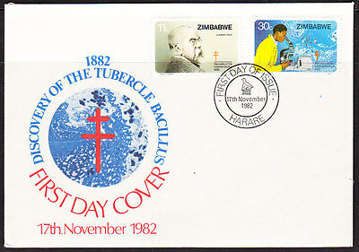Zimbabwe 1982 Tuberculous First Day Cover