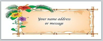 30 Personalized Return Address Labels Flowers Buy 3 get 1 free (bo 864)