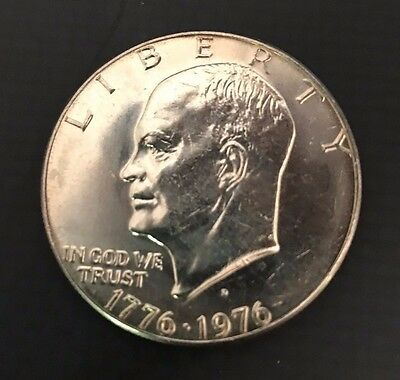 1976-D  Brilliant Uncirculated (TYPE1) Eisenhower US One Dollar Coin