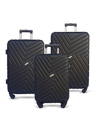 "20"" 4 Spinner Wheels Luggage Hard Shell Light Weight Cabin Carry On Suitcase"