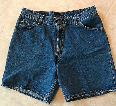 Levi's 951 Womens Relaxed Fit Jean Shorts Size 16 Medium Wash Denim Shorts