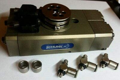 SCHUNK Pneumatic Rotary Actuator   OSE-C22-0    354220 , with mounting bracket