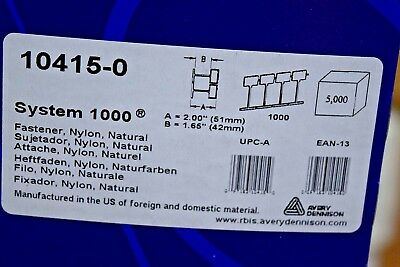 Avery Dennison System 1000 Tagging Fasteners Barbs