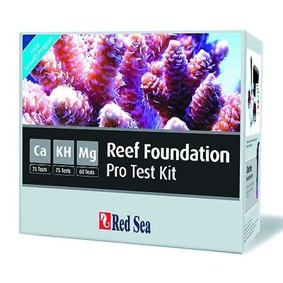 Red Sea RCP Reef Foundation Pro Test Kit - Marine Reef Calcium Magnesium KH
