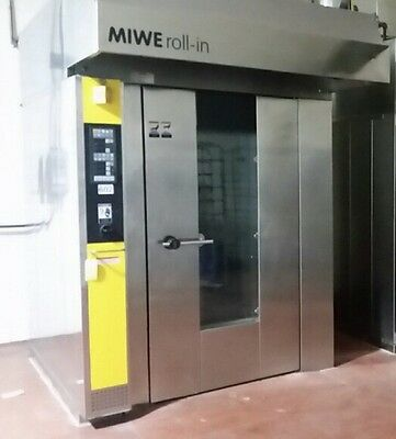 MIWE Double Rack Rotating / Racking Bakery Bread Oven GAS