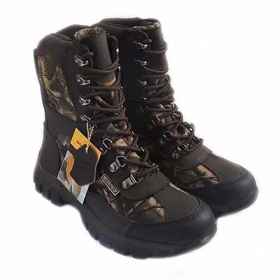 Kingshow Men/'s 1280 Winter Snow Boots Shoes Waterproof Insulated Lace UP Brn