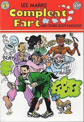 Lee Marrs' THE COMPLETE FART & Other Body Emissions 1976 Kitchen Sink Press VFNM
