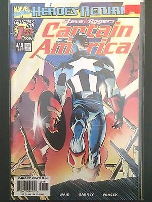 Captain America (Vol 3 1998) #1 2 3 4 5 6 7 Heroes Return Power and Glory Lot