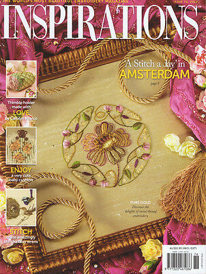 INSPIRATIONS MAGAZINE issue 76 RARE * PATTERNS STILL ATTACHED vgc