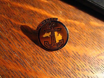 MARSP Lapel Pin - Michigan Association Of Retired School Personnel Member Pin