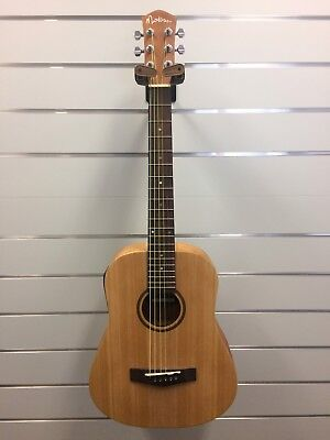 Martinez Babe Traveller 'Busker' Acoustic Electric Guitar with D-Box