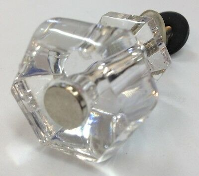 4x5cmh Clear Crystal Glass Door Knobs Furniture Drawer Cabinet Kitchen Handles