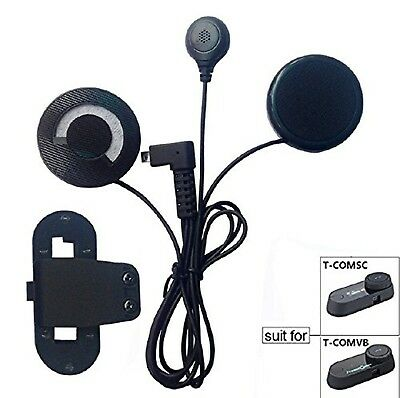 FreedConn Microphone Headphone Soft Cable Headset & Clip Accessory for T-COMV...