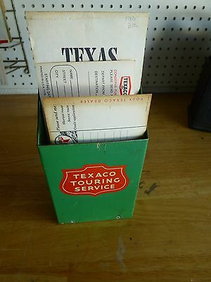 Vintage Texaco Service Filling Station Touring Travel Service Trip Request Cards