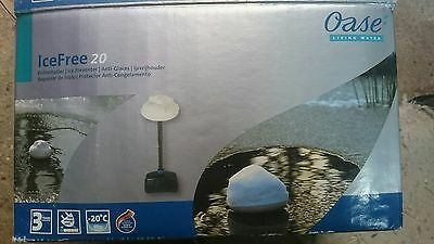 Oase Ice preventer Icefree 20 for Garden ponds with mind 80cm Deep Pond aerator