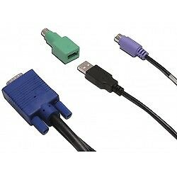 Avocent - Cable PS2/USB for SV1000 6FT 1.8m Negro cable para video, teclado y ra