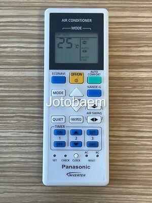 Panasonic Air Conditioner Remote Control A75C3826 LIFETIME WARRANTY