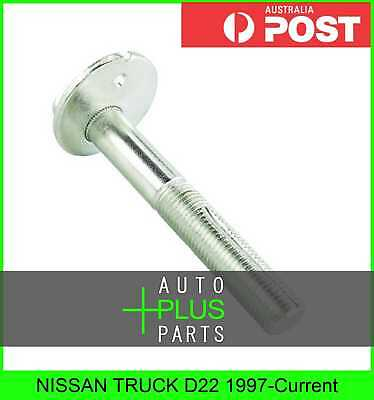 Fits NISSAN TRUCK D22 1997-Current - Cam Camber Adjustment Bolt / Plate