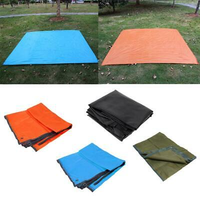 2.1 x 1.5m Large Ultralight Waterproof Tent Footprint Ground Sheet for 4 Person